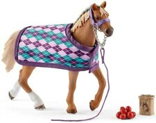 Schleich Horse Club English Thoroughbred With Blanket & Accessories - 3 Years +