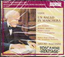 Toscanini Heritage / Verdi: Un Ballo In Maschera, Peerce, Nelli, Met 17.1.54 CD