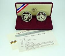 1984 US Olympic Proof Commemorative Coins in Box w/ COA - Free Shipping USA