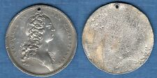 Cliché uniface en plomb - Ludovicus XV Rex Christianiss (jeune)