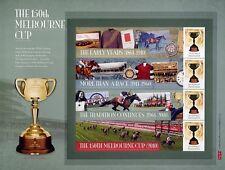 Australien Australia 2010 Block 115-16 plus 108I Pferdesport MNH Auflage nur 500