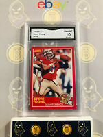 1989 Score Steve Young #212 - 10 GEM MINT GMA Graded 49ers Football Card