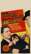 Big city Spencer Tracy Luise Rainer movie poster
