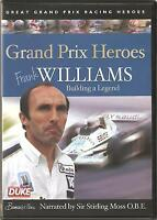 GRAND PRIX HEROES FRANK WILLIAMS DVD NARRATED BY SIR STIRLING MOSS O.B.E.