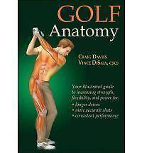 Golf Anatomy (Sports Anatomy), Very Good Condition Book, Dr Craig Davies, ISBN 9