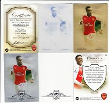 2016 Futera Unique Arsenal 1 of 1 Production Set #24 Danny Welbeck England 1/1