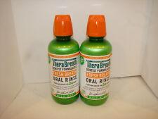 TheraBreath- 24hr Oral Rinse- Mild Mint- 16oz EA LOT OF 2 EXP:4/21