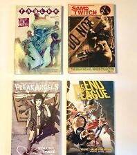 Graphic Novel Trade Paperback Mixed Lot of 4 Freak Angels End League Sam Twitch