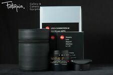 Brand New Leica Summicron-M 35mm F2 ASPH II - Black / 11673 for M8 M9 M240 M10