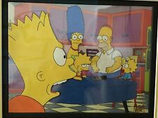The Simpsons Treehouse Of Horror Cel Hand Animated Prop Fox COA art