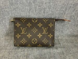 Authentic Louis Vuitton Monogram Toiletry Pouch 15