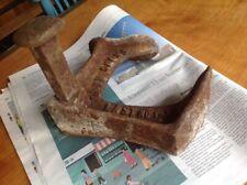 Zapato Vintage triple última Shoemakers herramienta pesada puerta parada Nieve De Hierro Fundido