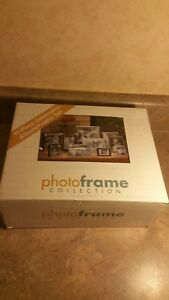 "Aluminum Picture Frame Set ""Celebration"" Lot Of 10 Piece Set"
