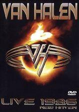 VAN HALEN - LIVE NEW HAVEN 1986 DVD (90 MINUTEN) US-HARDROCK