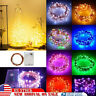 20-1000 LEDs Waterproof String Light Outdoor Fairy Lamp Xmas Tree Party Decor US