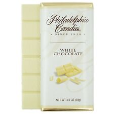 Philadelphia Candies Original Gourmet White Chocolate Bar, 3.5 Ounce Candy Gift
