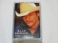 Alan Jackson Who Am I Artista Records 1994 AC 8759 Cassette Tape Gone Country