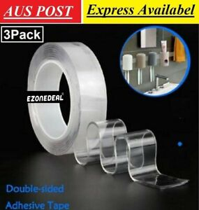 18 Kinds 20m White //Black Glue Double Sided Foam Tape Closed Cell 1.5mm Thick