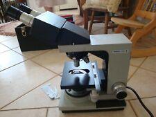 Bausch Amp Lomb Binocular Microscope Optilume Balplan 313213 100x 40x 10x