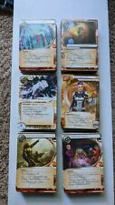 Complete RED SAND CYCLE for Android Netrunner - Cards only, M/NM!