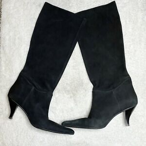 Enzo Angiolini Suede Pointed Toe Boot Size 8.5