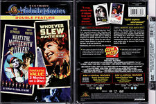 DVD Midnite Movies WHAT'S THE MATTER WITH HELEN + WHO SLEW AUNTIE ROO R1 OOP NEW