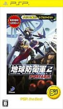 Used PSP Earth Defense Force 2 Portable SONY PLAYSTATION JAPAN IMPORT