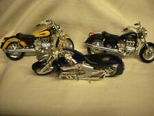 Maisto diecast 1:18 motorcycle, Honda Valkyrie, Lot of 3