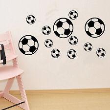 LK _ EG _ 12 pièces / set FOOTBALL Art Mural Autocollant Décalque chambre