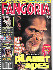 Fangoria #205 (2001, 84 pages, full colour) good as new - very very scarce