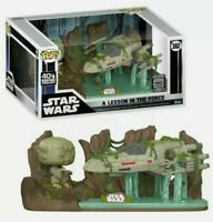 FUNKO POP! - STAR WARS - DELUXE - A LESSON IN THE FORCE -  YODA LIFTING X WING