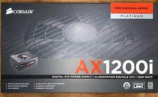 CORSAIR AX1200i Pro Series Digital 80+ Platinum Certified Power Supply NEVERUSED