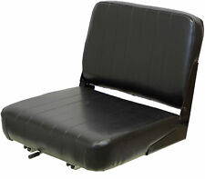 Fold Down Backrest Economy Seat Fits Forklifts and Construction Applications