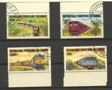 Congo republic 1984 SG 954-7 Locomotives Fine used (CTO)