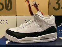Air Jordan 3 Retro Sp FRAGMENT Sz13 Sneakers Black/White AUTHENTICITY GUARANTEED