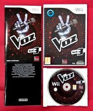 La Voz  Vol 3 - NINTENDO Wii - USADO - MUY BUEN ESTADO