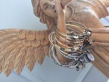 Lot of 21 Bracelets Alex & Ani Silver/Gold