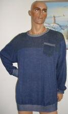 Herren PULLOVER in Blau der Marke Identic in Gr. 3XL  4XL  5XL TOP