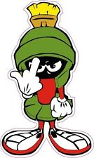 """Marvin the Martian F You Small Decal 3"""""""