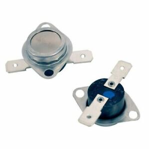 FITS Hotpoint Tumble Dryer CUT OUT THERMOSTAT KIT 2 PACK , Blue For RED Spot