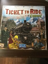 Brand New Days of Wonder Ticket to Ride - Europe Board Game (7202)