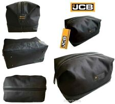 JCB LARGE DURABLE TOILETRY SHAVE HOLIDAY GYM WASH BAG IDEAL MENS GIFT BRAND NEW