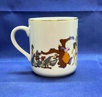 Vintage Disneyland Disney World Jungle Book Ceramic Coffee Tea Cup Japan