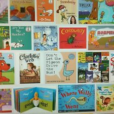 Bulk Lot of 24 Children's Books: Teachers Parents Back to School, Ages 4-10