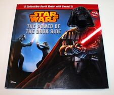 Star Wars The Powr of the Dark Side Book Collectibl Darth Vader w/Sound
