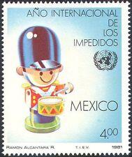 México 1981-desactivado/salud/bienestar/roto Soldado De Juguete/tambor 1v (n25820)