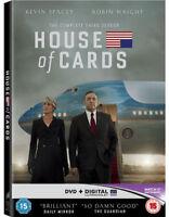 Casa De Tarjetas - Temporada 3 - Rojo Etiqueta Nuevo DVD (CDRP6198UV)