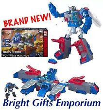 Transformers FORTRESS MAXIMUS Generations Titans Return Autobot City SYDNEY NEW!