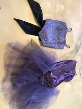 Curtain Call Adult Small Costume Dance Halloween Purple