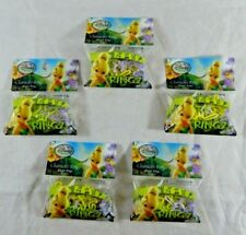 5 Pack Tinkerbell Character Shape Ringz Silly Bandz Elastic Rings Disney Fairies